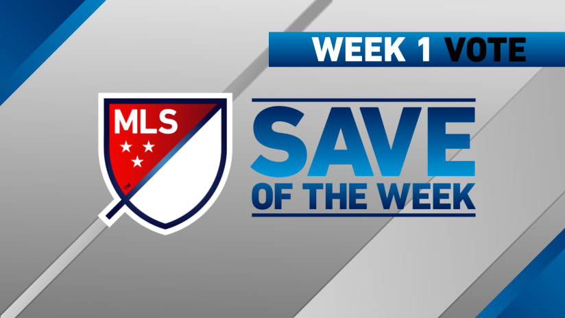 Save of the Week - week 1
