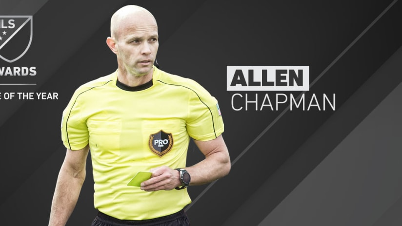 2017 Awards - Referee of the Year - Allen Chapman