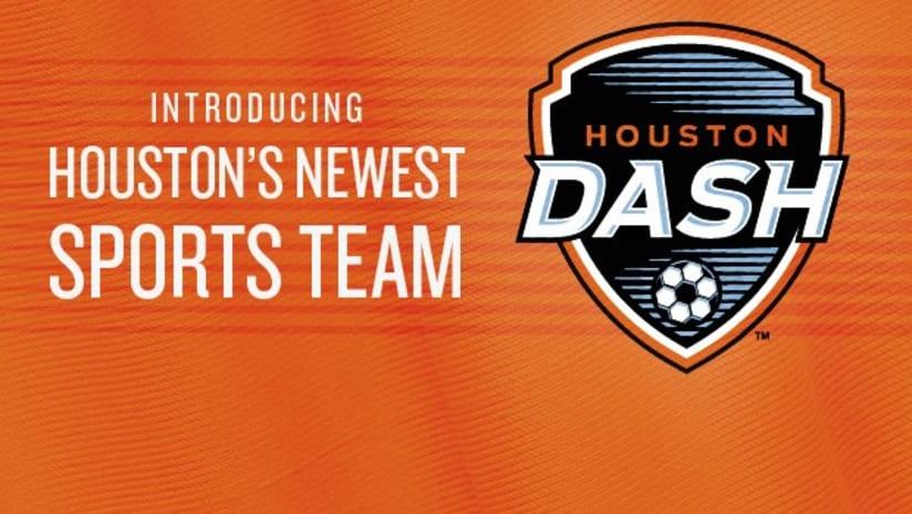 Houston Dash NWSL announcement