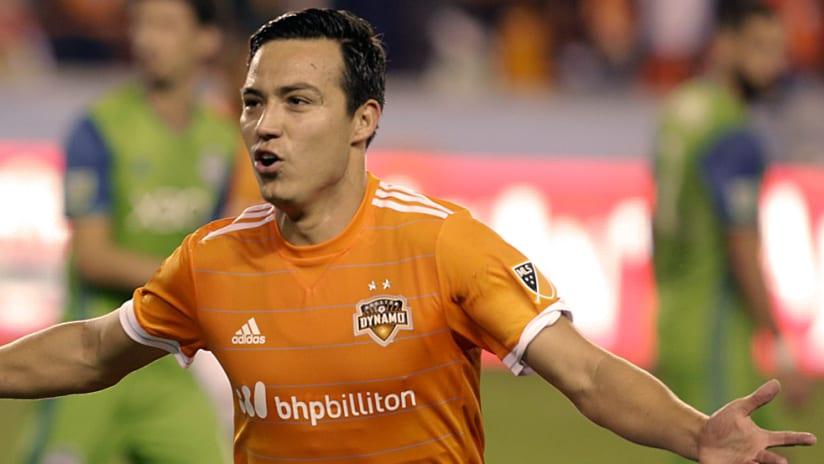Erick Torres - Houston Dynamo - Celebrate