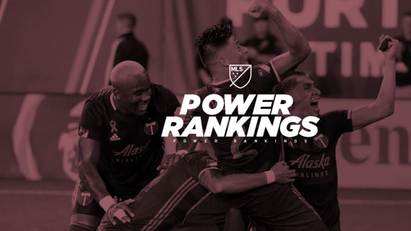 Portland Timbers - celebration - Power Rankings