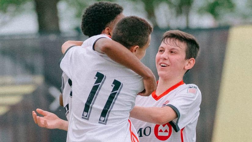 Toronto FC - U15s - Celebrate GA Cup
