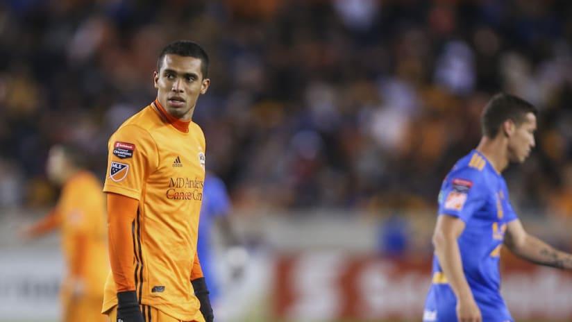Mauro Manotas frustrated - CCL vs. Tigres