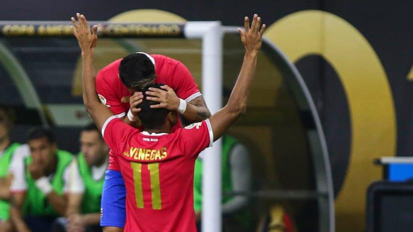 Johan Venegas - Costa Rica - Copa America Centenario - Celebrates golazo vs Colombia