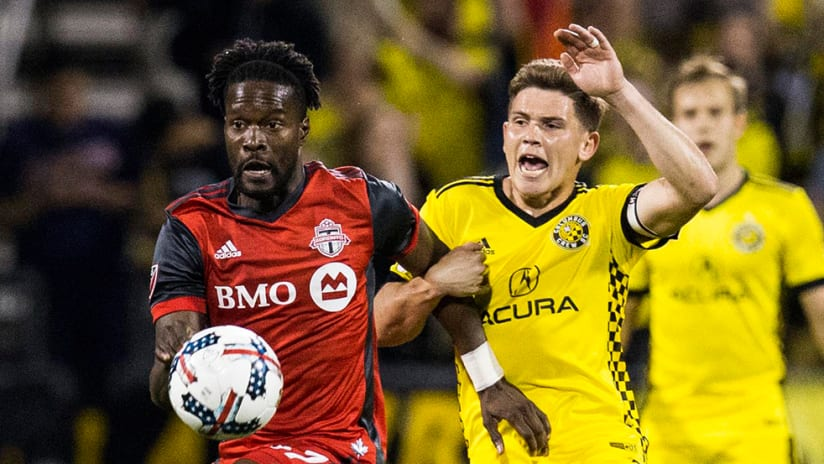 Tosaint Ricketts, Wil Trapp - Columbus Crew SC vs. Toronto FC