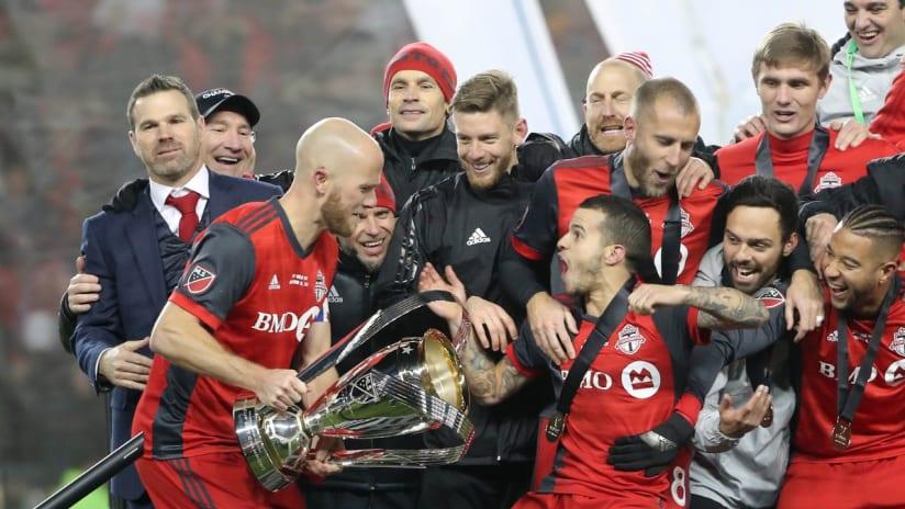 Toronto FC - MLS Cup celebration - 2017