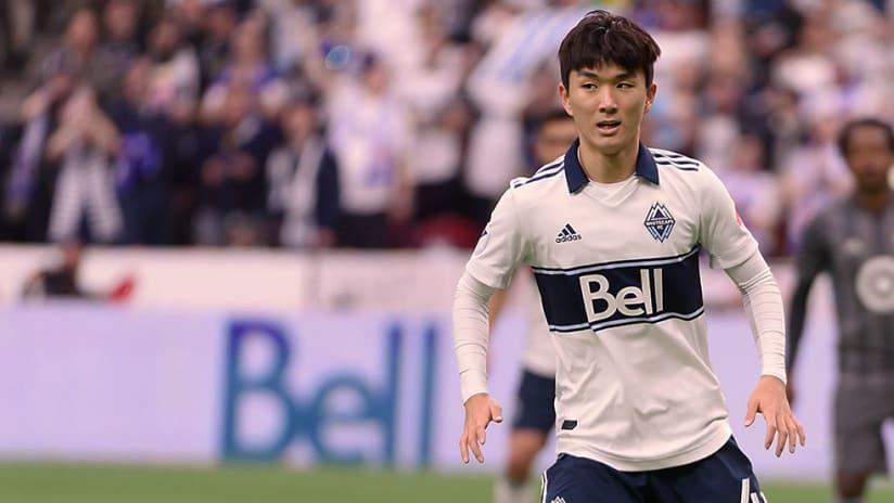 Inboem Hwang - Vancouver Whitecaps FC - Close up
