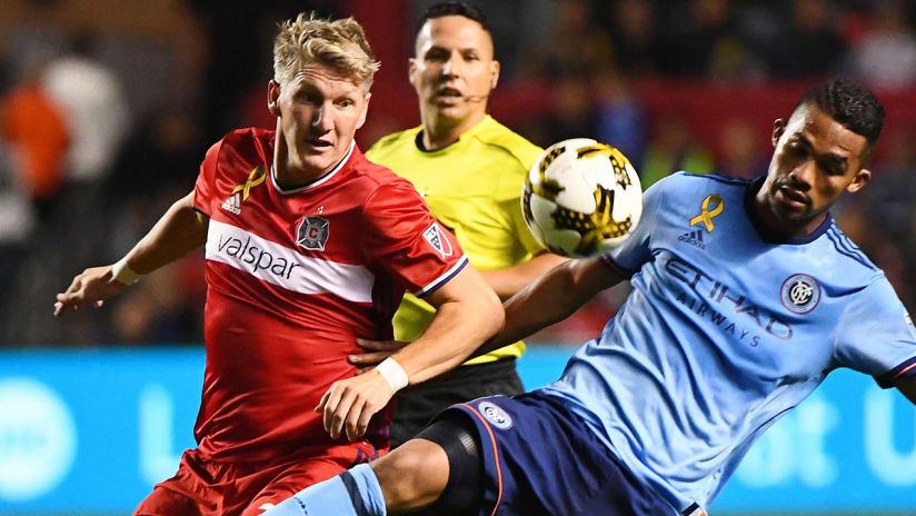 Bastian Schweinsteiger - Chicago Fire - vs. NYCFC