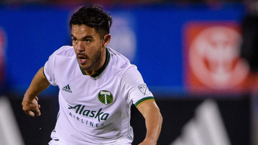 Andres Flores - Portland Timbers - surveys field