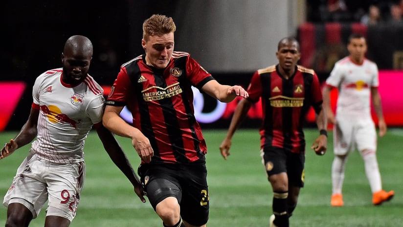 Kemar Lawrence - Julian Gressel - New York Red Bulls - Atlanta United