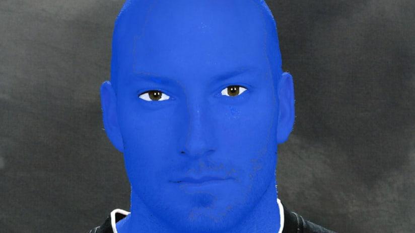 Matt Reis - New England Revolution - Blue Man Group