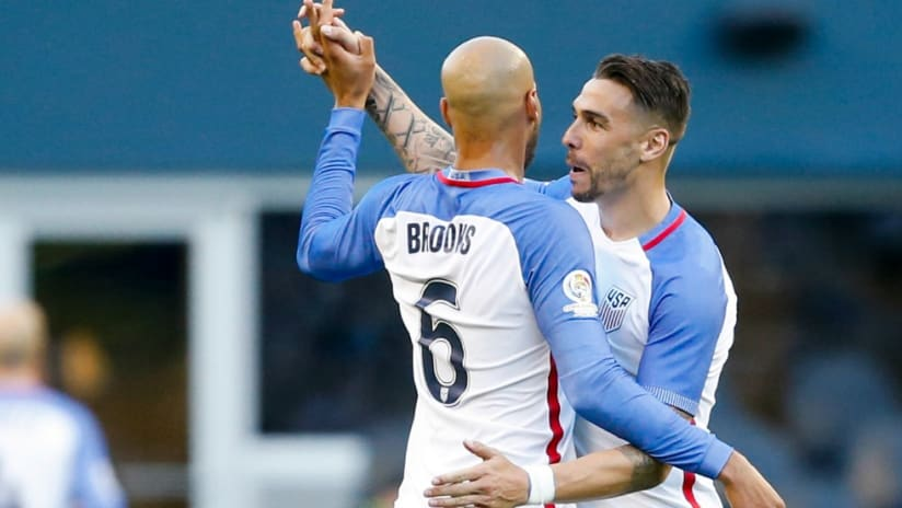 John Brooks - Geoff Cameron - US national team - Copa America