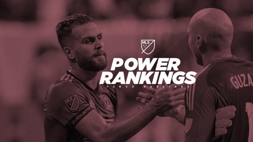Power Rankings - Atlanta United - Leandro Gonzalez Pirez - Brad Guzan