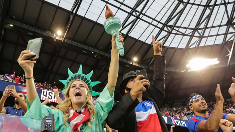 US Fans -- At Red Bull Arena