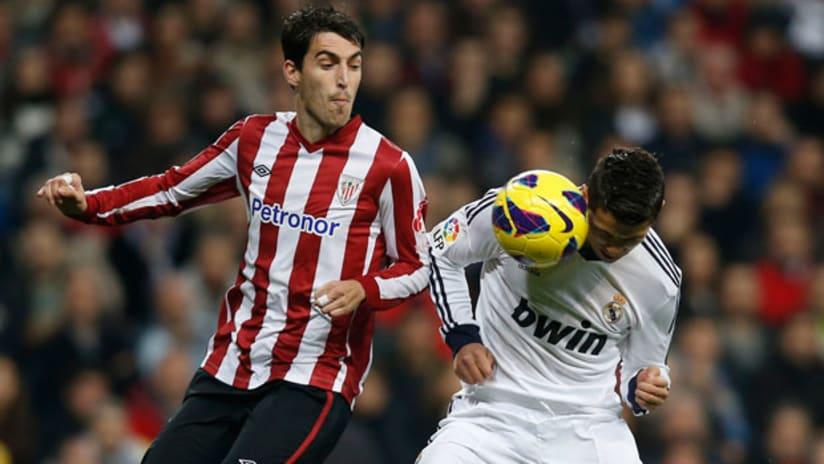 Andoni Iraola with Athletic Bilbao