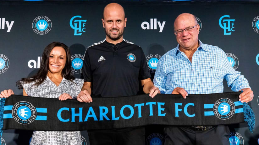 Miguel Angel Ramirez and David Tepper - Charlotte FC