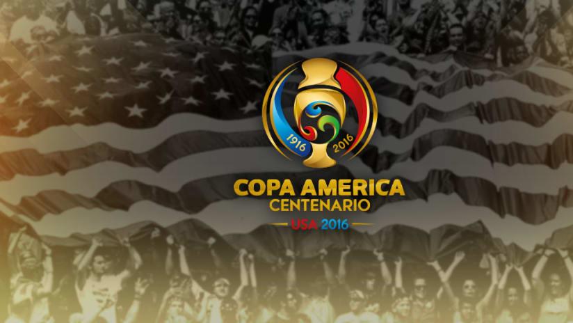 Copa America Centenario logo updated