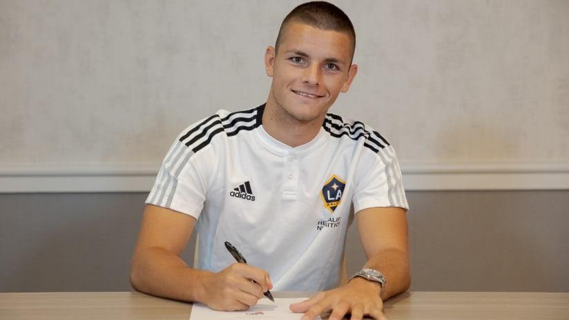 Dejan Joveljic LA Galaxy signing