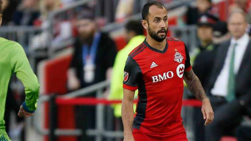Victor Vazquez - Toronto FC - in action vs. Seattle - solo - 2018