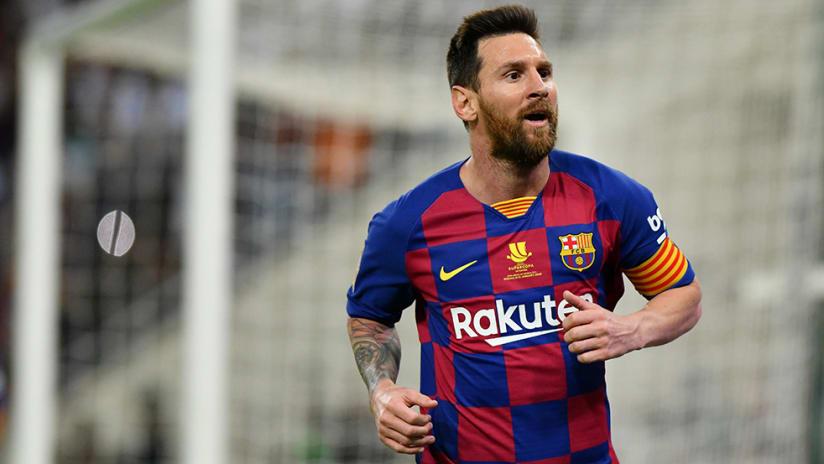 Lionel Messi - FC Barcelona - wheels away