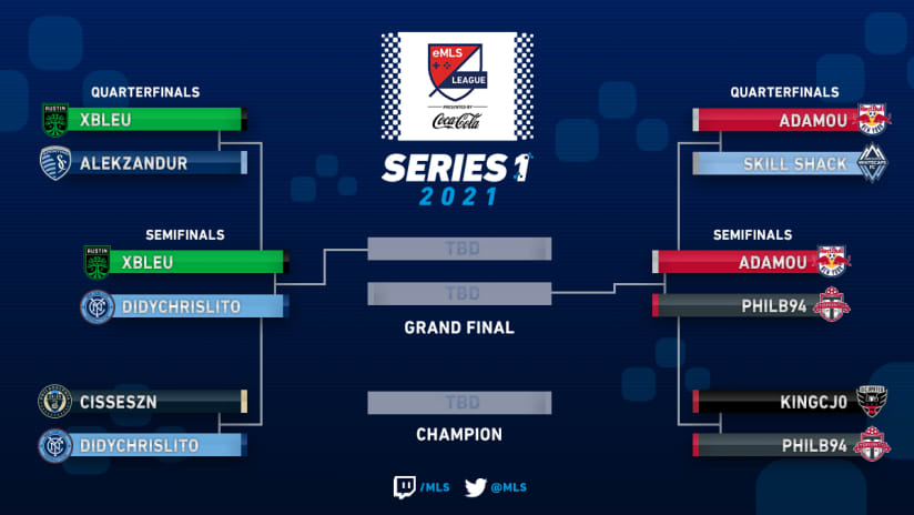 emls - 2021 - series one - semifinals