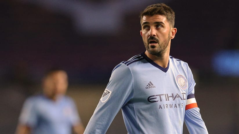 David Villa - New York City FC - Looking away