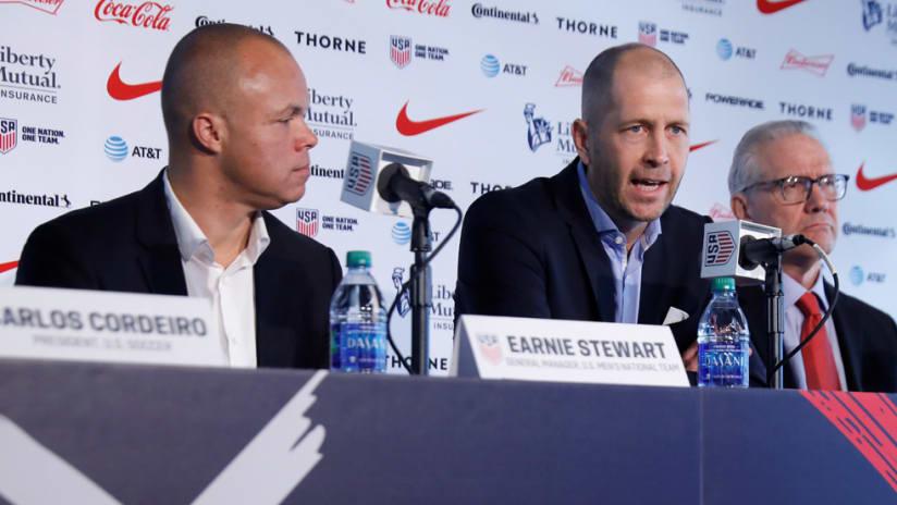 Gregg Berhalter - introductory press conference - Earnie Stewart - Dan Flynn - U.S. Soccer