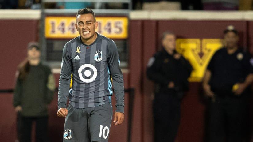 Miguel Ibarra - Minnesota United - Grimace