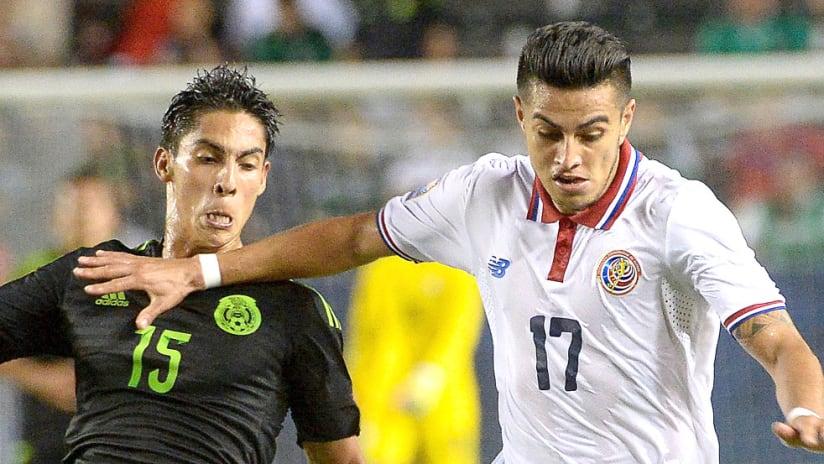 Ronald Matarrita - Costa Rica - Dribbles against Mexico