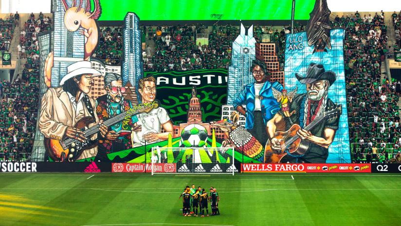 "Austin FC marvel at ""electric"" opening night at Q2 Stadium"