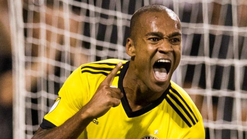 Ola Kamara - Columbus Crew - Celebrates Goal