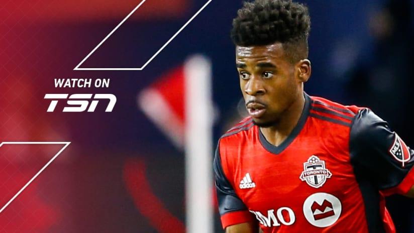 Raheem Edwards - Toronto FC - TSN