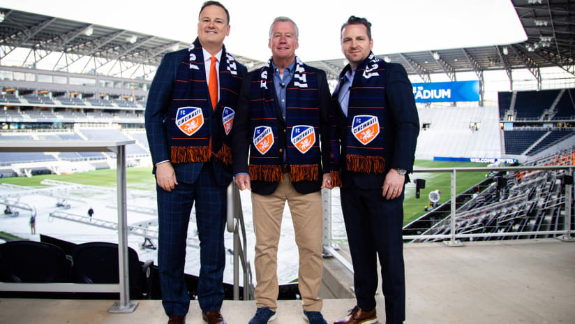 FC Cincinnati introduce TQL Stadium in new partnership
