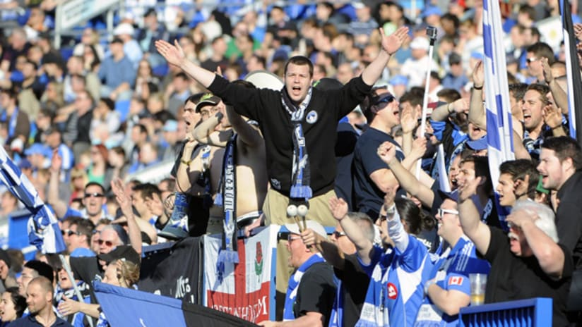 Montreal Impact supporters (April 27, 2013)