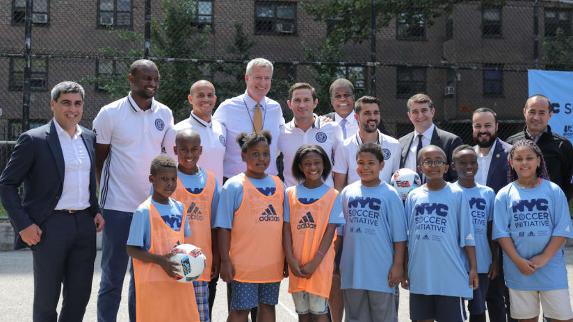 NYC Soccer Initiative Event July 12, 2016