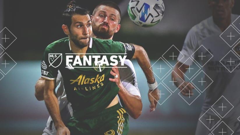 Fantasy: Diego Valeri - Portland Timbers - in action vs. LA Galaxy