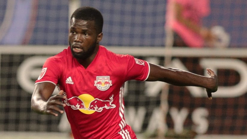 Kemar Lawrence - New York Red Bulls - Close up