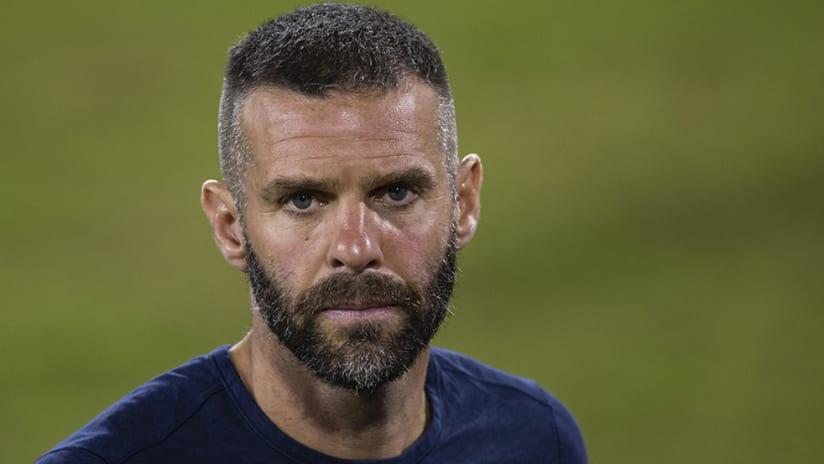Ben Olsen - D.C. United - tough look