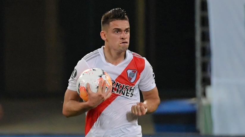Rafael Santos Borre - River Plate - celebration