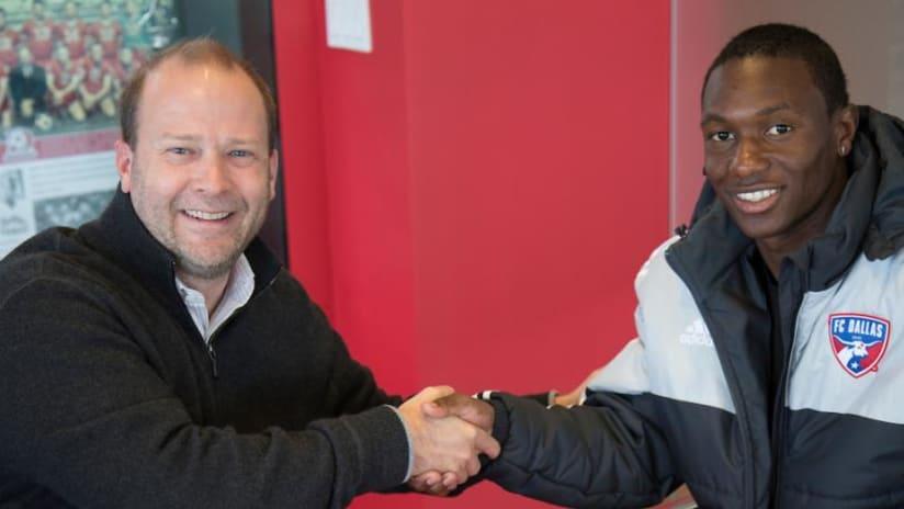 FC Dallas signs Anibal Chala