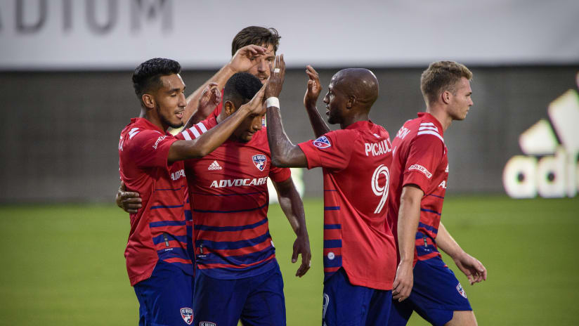 Fafa Picault celebrates - FC Dallas