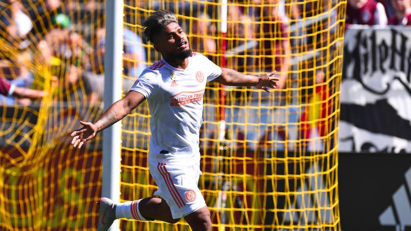 Josef martinez - Atlanta United - Goal celebration