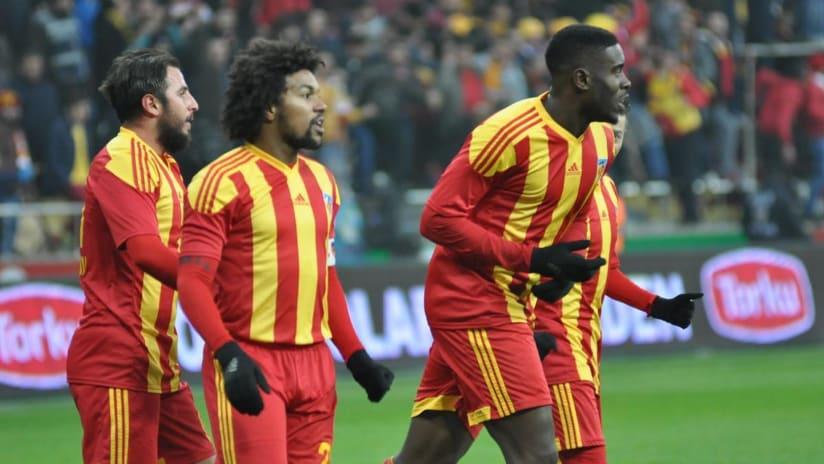 Larrys Mabiala - Portland Timbers - with Turkey's Kayserispor