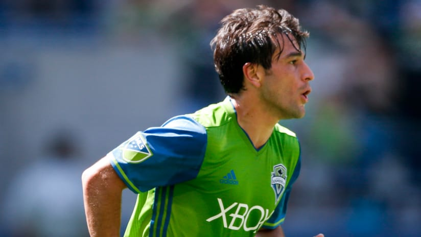 Nicolas Lodeiro - Seattle Sounders - Close up