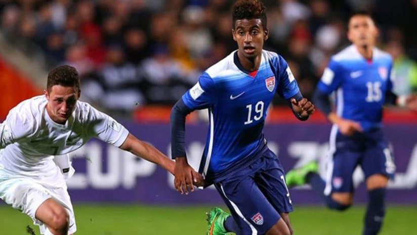Gedion Zelalem - US U-20