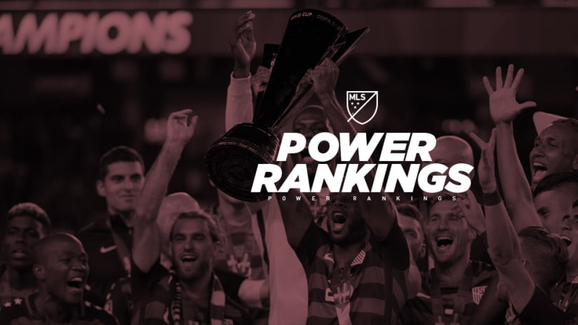 USMNT - Gold Cup - Power Rankings