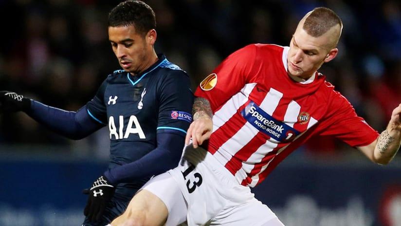 Zdenek Ondrasek - FC Dallas - with Tromso vs. Tottenham