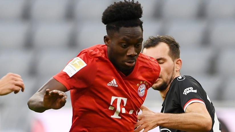 Alphonso Davies - Bayern Munich - Bundesliga dribble