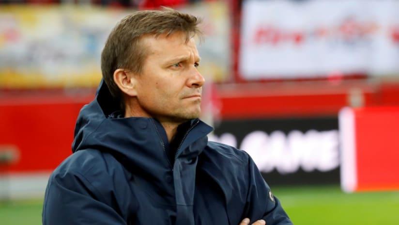 Jesse Marsch - sideline - RB Salzburg