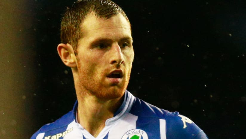 Chris McCann - Wigan Athletic - August 2015